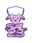 STICKER SALMO 23