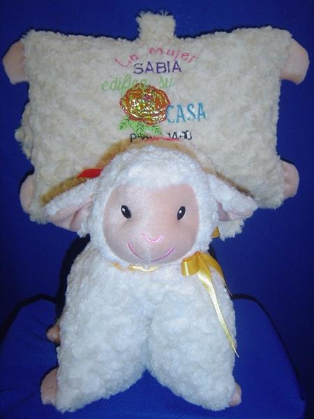 almohada oveja dia del niño y de la mama -035