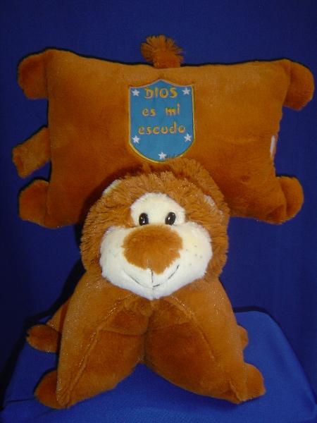 almohada leon dia del niño y de la mama  -045