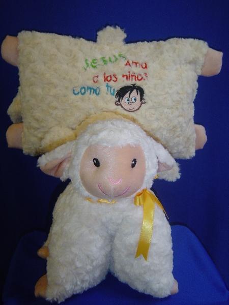 almohada oveja dia del niño y de la mama -052